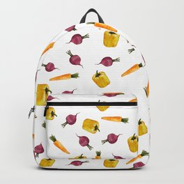 Veggie pattern Backpack