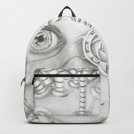 cyborg girl Backpack