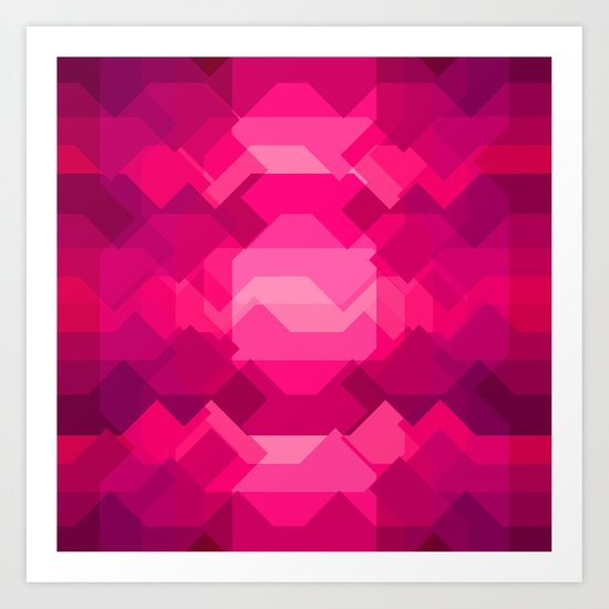 Gemstone - Ruby Art Print