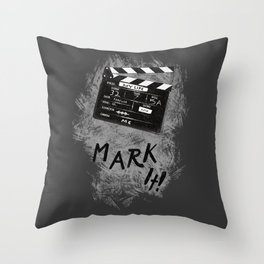 Clapperboard Throw Pillow