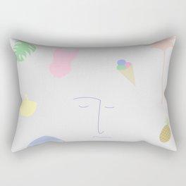Sketch for Summer Rectangular Pillow