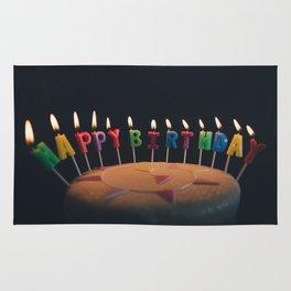 happy birthday 4 Rug