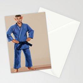Karate Elf Stationery Cards