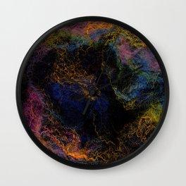 Abstract Nebula K3 Wall Clock