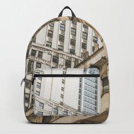 Federal Hall, New York photos, I love NY, Wall street, fine art photo Backpack