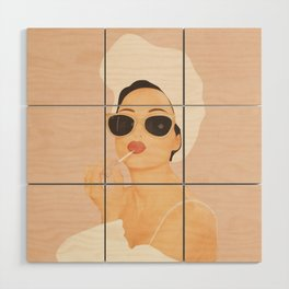 Morning Routine Wood Wall Art