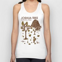 the national Tank Tops featuring Joshua Tree National Park by Hinterlund