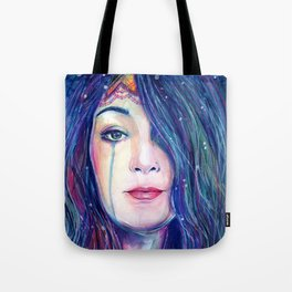 Our Lady of The Deep Tote Bag