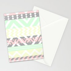 chevron pattern. Stationery Cards