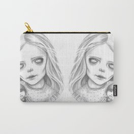 Little Zombie Girl Carry-All Pouch