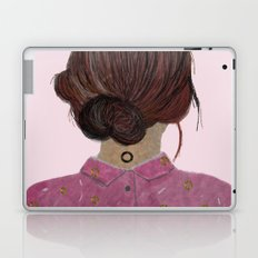 The pink blouse Laptop & iPad Skin