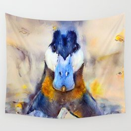 Mr. Ruddy Duck Wall Tapestry