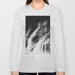 Forest Waterfall Long Sleeve T-shirt