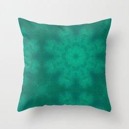 Heart Chakra Mandala fabric Throw Pillow