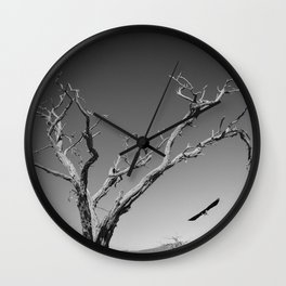 The Crow and Tree Wall Clock