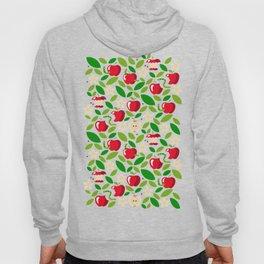 apple bloom and apple fruit Hoody