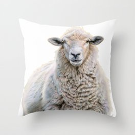 Mona Fleece-a Throw Pillow