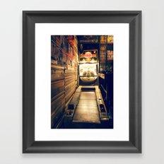 Meanwhile, Somewhere In Brooklyn... Framed Art Print