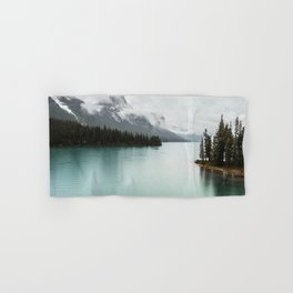 Landscape Photography Maligne Lake Hand & Bath Towel