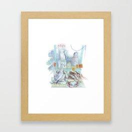 Chinatown NY Framed Art Print