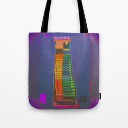QUEEN / Black / Chess Tote Bag