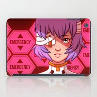 evangelion iPad Cases featuring Evangelion: Rei Ayanami by Kelly Kao