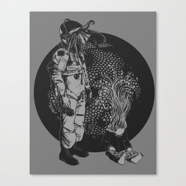 It Came from Inner Space Canvas Print
