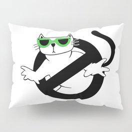 Cat Thug Buster | Digital Art Pillow Sham