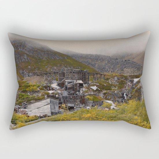Independence Mine - Hatcher Pass, Alaska Rectangular Pillow