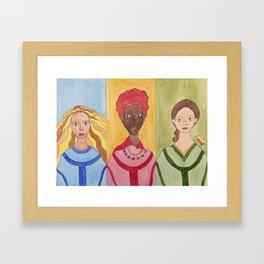 Warrior Women Framed Art Print