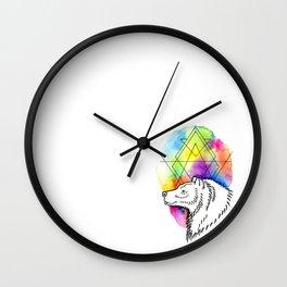 Bear Tarot Wall Clock