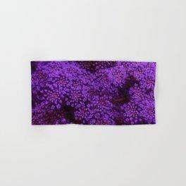 Purple Queen Anne's Lace Landscape Hand & Bath Towel