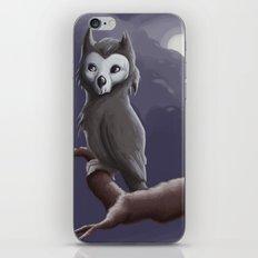 Skull Owl  iPhone & iPod Skin
