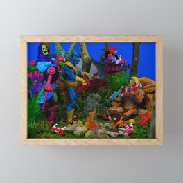 Meat Freak Tall Framed Mini Art Print