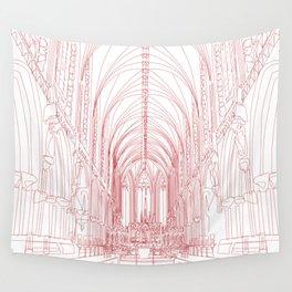 Inside Church Wall Tapestry