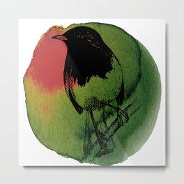 Watercolor Robin 2 Metal Print