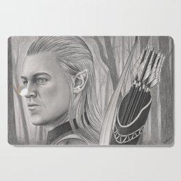 Elf Archer Cutting Board