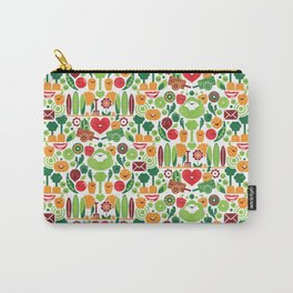 Vegetables tile pattern Carry-All Pouch