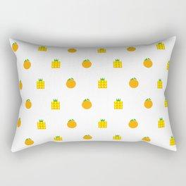 Ji Li Ong Lai / Orange & Pineapple Rectangular Pillow