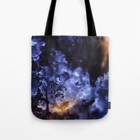 optimus prime Tote Bags featuring Optimus Prime III by HappyMelvin