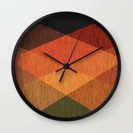 #Ethnic #abstract Wall Clock