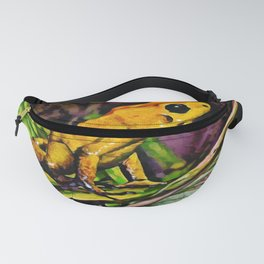 Dart Frog Dream | Painting  Fanny Pack