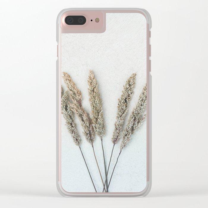 Summer Grass II Clear iPhone Case
