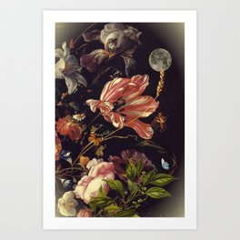 Under the moon of love Art Print