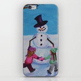 Snowman Play 3 iPhone Skin
