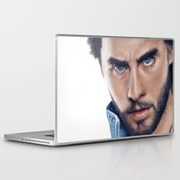jared leto Laptop & iPad Skins featuring Jared Leto by mari_art89