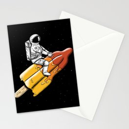 Melted Rocket Stationery Cards