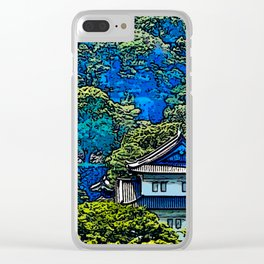 Imperial Palace Clear iPhone Case