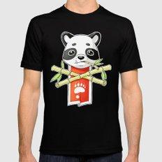Panda Banner Black MEDIUM Mens Fitted Tee