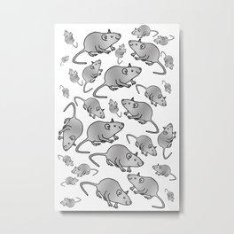 Rat-ageddon Metal Print